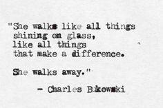 Charles Bukowski • Woman on the Street