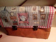 Leather bag, customizable whims - hand made by Carlalluna in DaWanda