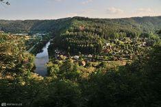 Z Ratají přes Sázavu do Stříbrné Skalice River, Outdoor, Outdoors, Outdoor Games, The Great Outdoors, Rivers