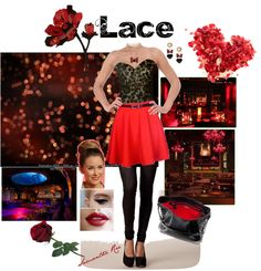 """Lace Love"" by samantha-edlin on Polyvore"