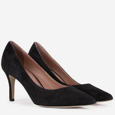 Pantofi Stiletto din piele naturala negri Taya Peep Toe, Pumps, Shoes, Fashion, Moda, Zapatos, Shoes Outlet, Fashion Styles, Court Shoes