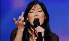 Margaret Cho just brilliantly used the anti-choicers' weapon– the Bible– to destroy their arguments against abortion rights. Margaret Cho, German People, Female Hero, Joan Rivers, Has Gone, Atheism, Ten, Comedians, Donald Trump