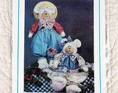 CRAFTS Uncut PATTERN51 1994 Needle In A Haystack 152 Huckle-Bearries Stuffed Bears