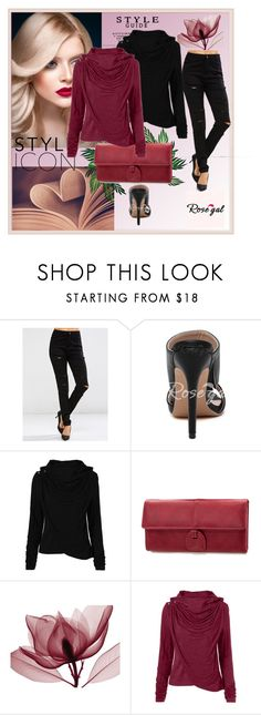 """""""What To Wear? /Rosegal 18"""" by rose-99 ❤ liked on Polyvore featuring modern and hoodie"""