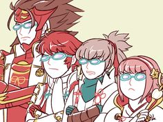 Don't mess with my family: 26/5/16 Nohr version Ryoma, Hinoka, Takumi, Sakura