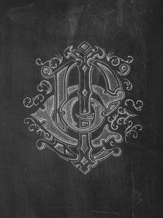 Chalk art P.I.C.O. Mono by Joshua Bullock