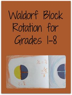Establish your own yearly rhythm and Waldorf homeschooling curriculum plan with this outline of the traditional Waldorf block rotation for grades 1-8.
