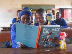 With just 1,000 gently used books, 500 dollars for shipping costs, and help from AFRICAN LIBRARY PROJECT, anyone can start a library in rural Africa, where many children grow up without books.