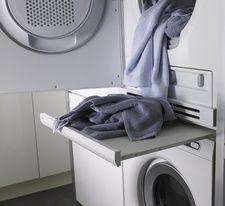 good idea for small laundry closet