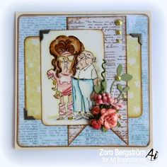 70s  Couple sold separately or comes in a set. .Click on picture & it will take you into this listing in my Ebay Store. Made by Art Impressions Rubber Stamps. The Items can be purchased in my ebay Store Pat's Rubber Stamps & Scrapbooks or call me 423-357-4334 with order. We take PayPal. You get free shipping with the phone orders of $30.00 or more