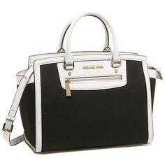MICHAEL MICHAEL KORS 2014年秋冬新作のバッグが入荷!白の縁取りが可愛い!オンにもオフにも使えるデザインです♪