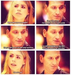 9th Doctor And Rose Quotes. QuotesGram by @quotesgram