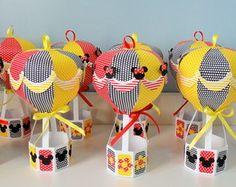 """Balão 3D Mickey e Minie Tamanho """"G"""""""