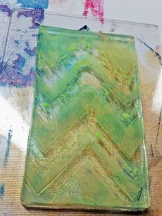 Hazel & Ruby has been sharing projects using the amazing HR Stencil-Masks and Gelli Arts, Gelli Plates!