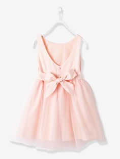 Girls Sateen and Tulle Occasion Dress, Girls Girls Dresses, Flower Girl Dresses, Flower Girls, Organza, Robes D'occasion, Satin, Winter Dresses, Tulle Dress, All Fashion