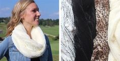 Fur Infinity scarves 4 colors $8.99