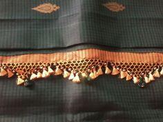 Net Saree Kuchu Design