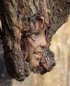 Tatjana raum's polymer & driftwood. That's talent!