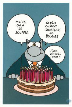 """Résultat de recherche d'images pour """"anniversaire geluck le chat"""""""