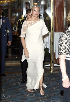 Norwegian Royals attend the 2015 Nobel Peace Prize Banquet