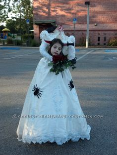 Cool Handmade Headless Bride Costume... This website is the Pinterest of costumes