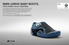 On April BMW decided to go one step further and unveil a product for babies, dubbed the BMW xDrive Baby Boots.
