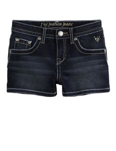 Girls Clothing   Shorties 2½ Inseam   Clean Hem Denim Short   Shop Justice  mom you want me to get shorts