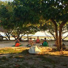 The #Yoga Place Center #Gili #Trawangan #Lombok #Indonesia