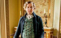 Christian Brassington as Reverend Osborne Whitworth in Poldark