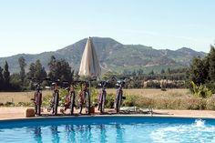 """Glamping,""aka as glamorous camping, Colchagua, Spain #travel"