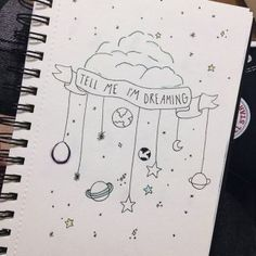 Trendy Book Art Ideas Bullet Journal Doodle Art will be an enjoyable means to Drawing Quotes, Drawing Tips, Drawing Sketches, Drawing Ideas, Drawing Art, Life Drawing, Planet Drawing, Dream Drawing, Painting Quotes
