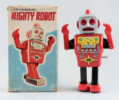 20 Cool and Crazy Vintage Robot Toys