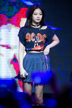 BLACKPINK at first college festival ( 건국대 ) #JENNIE