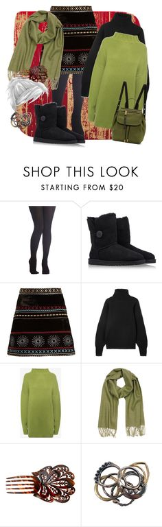 """Winter is here!"" by candycandy150 ❤ liked on Polyvore featuring UGG Australia, Dodo Bar Or, The Row, Alexander McQueen, Mila Schön, Iosselliani and Marc Jacobs"