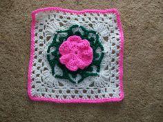 2014 BAM CAL, now called Floral Accent is LA 50 Fabulous Crochet Squares