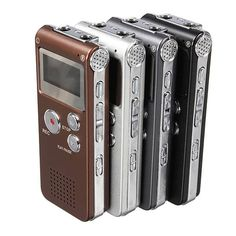 Steel Rechargeable 8GB 650HR Digital Audio Voice Recorder MP3 Player  Worldwide delivery. Original best quality product for 70% of it's real price. Buying this product is extra profitable, because we have good production source. 1 day products dispatch from warehouse. Fast & reliable...