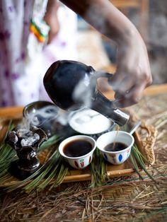 Ethiopian Coffee Ceremony — Ethiopia