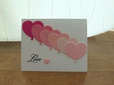 Handcrafted Cards from My Pretty Creativity  www.facebook.com/MyPrettyCreativity #valentines #love #hearts #sparkle #prettyinpink #greetingcards #handmade #handcrafted #cards