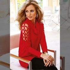 Compartilhe esse look...   Blusa vermelha  COMPRE AQUI!  http://imaginariodamulher.com.br/look/?go=2gUZy6z  #comprinhas #modafeminina#modafashion  #tendencia #modaonline #moda #instamoda #lookfashion #blogdemoda #imaginariodamulher