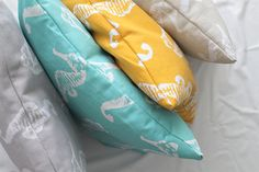 Pillow cover,white pillow,Turquoise pillow,yellow pillow,decorative pillow,pillow,throw pillow,home decor,cushion cover,accent pillow,