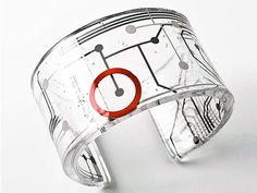 jewelry made from recycled circuit boards