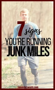 Here are 7 signs you might be running junk miles... and how getting rid of them can improve your training. Cutting out a junk run can help increase speed and endurance in running. Marathon Gear, Half Marathon Tips, Half Marathon Motivation, Beginner Half Marathon Training, Improve Yourself, Running, How To Plan, Signs, Keep Running