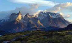 Stunning Patagonian scenery from Explora lodge in Chile's Torres del Paine National Park.