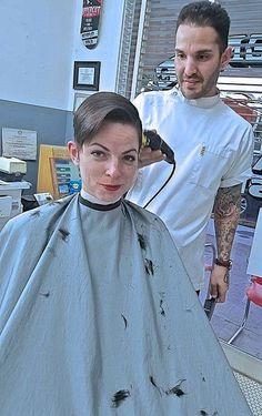 Haircut barbershop ladies in Ladies Barbershop