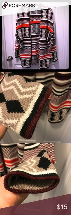 Tribal Sweater LIKE NEW CONDITION, worn one time.  Zero signs of wear.  Gorgeous sweater Old Navy Sweaters Cardigans