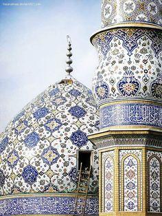 "coisasdetere: ""Persian mosque. Islamic art. """