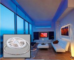 Echte sfeermaker! Met deze geweldige LED strip kun je de sfeer in de kamer in een handomdraai veranderen. Het ziet er gaaf uit en geeft uw kamer uitstraling!