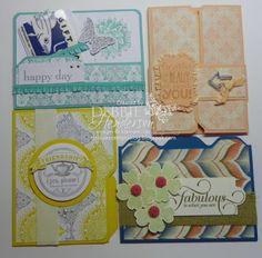 Debbie's Designs: File Folder Cards!