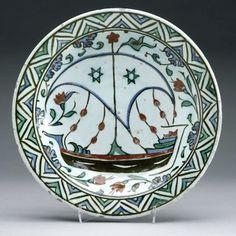 c. 1600 Ottoman period Area of Origin: Iznik, Turkey