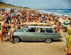 laola-spoora: Iconos del surf   Los Woody Wagons y otros vehículos surferos